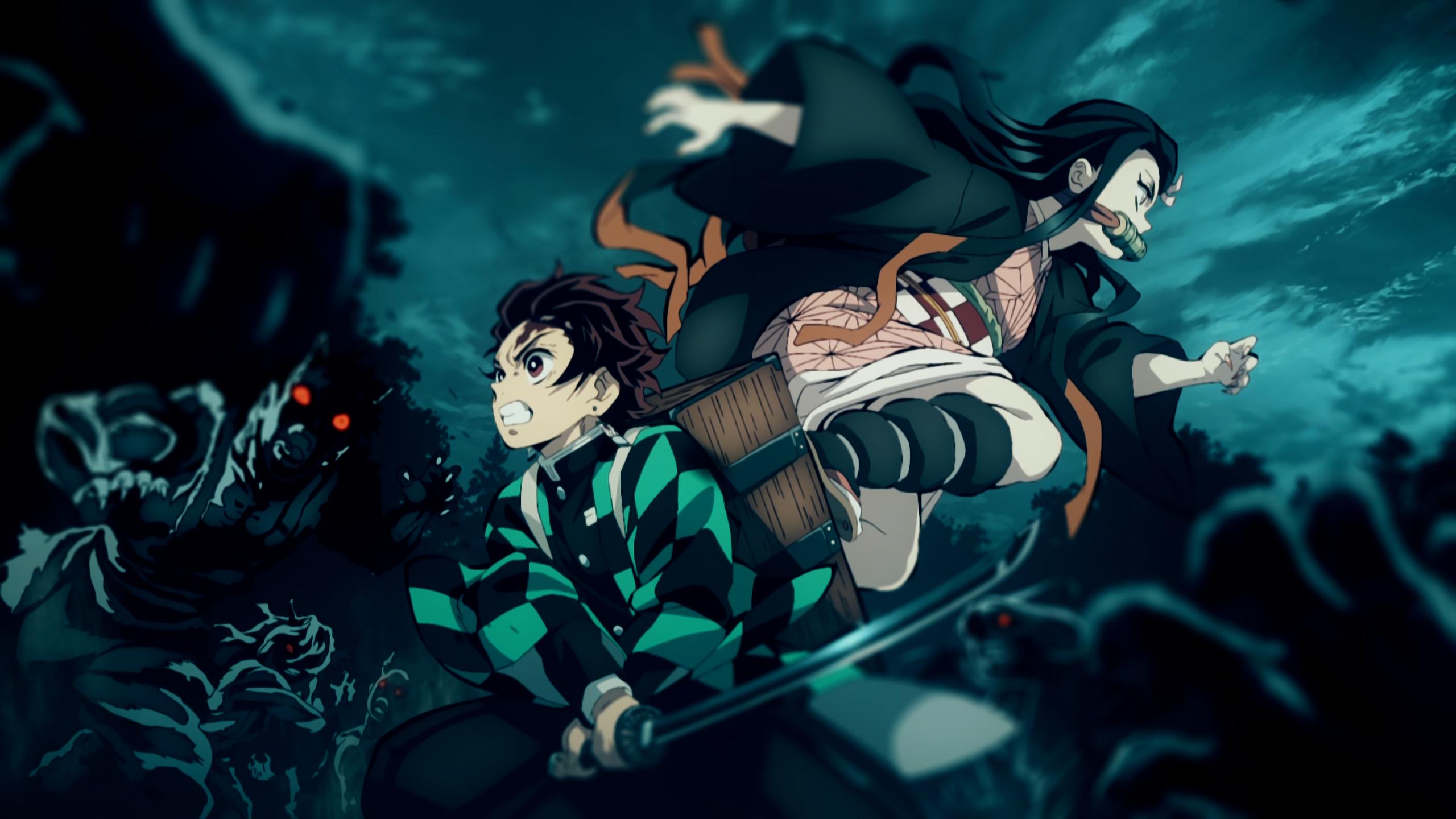 قاتل الشياطين غارق في الن مط Animerocket